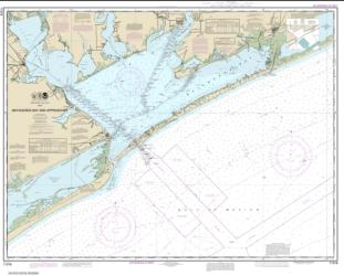 Buy map Matagorda Bay and approaches Nautical Chart (11316) by NOAA from Texas Maps Store