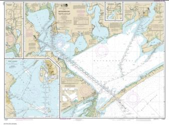 Buy map Matagorda Bay including Lavaca and Tres Palacios Bays; Port Lavaca; Continuation of Lavaca River; Continuation of Tres Palacios Bay Nautical Chart (11317) by NOAA from Texas Maps Store