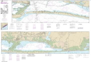 Buy map Intracoastal Waterway Cedar Lakes to Espiritu Santo Bay Nautical Chart (11319) by NOAA from Texas Maps Store