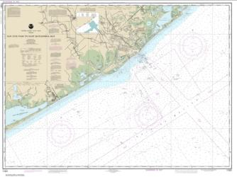 Buy map San Luis Pass to East Matagorda Bay Nautical Chart (11321) by NOAA from Texas Maps Store