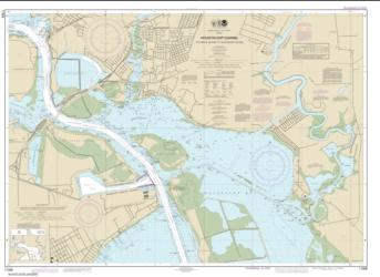 Buy map Houston Ship Channel Atkinson Island to Alexander Island Nautical Chart (11328) by NOAA from Texas Maps Store
