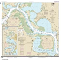 Buy map Houston Ship Channel Alexander Island to Carpenters Bayou; San Jacinto and Old Rivers Nautical Chart (11329) by NOAA from Texas Maps Store