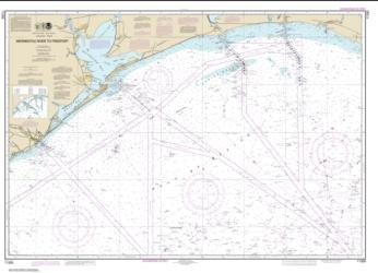 Buy map Mermentau River to Freeport Nautical Chart (11330) by NOAA from Texas Maps Store