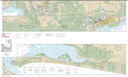 Buy map Intracoastal Waterway Ellender to Galveston Bay Nautical Chart (11331) by NOAA from Texas Maps Store