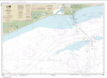 Buy map Sabine Bank Nautical Chart (11332) by NOAA from Texas Maps Store