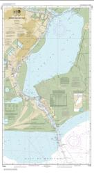 Buy map Sabine Pass and Lake Nautical Chart (11342) by NOAA from Texas Maps Store