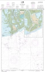 Buy map Port Fourchon and Approaches Nautical Chart (11346) by NOAA from United States Maps Store