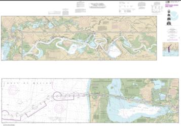 Buy map Calcasieu River and Lake Nautical Chart (11347) by NOAA from United States Maps Store