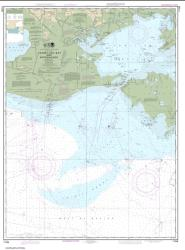 Buy map Vermilion Bay and approaches Nautical Chart (11349) by NOAA from United States Maps Store
