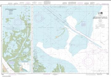 Buy map Baptiste Collette Bayou to Mississippi River Gulf Outlet; Baptiste Collette Bayou Extension Nautical Chart (11353) by NOAA from United States Maps Store