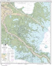 Buy map Mississippi River-Venice to New Orleans Nautical Chart (11364) by NOAA from United States Maps Store