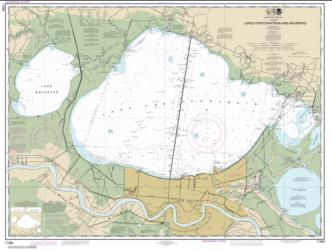 Buy map Lakes Pontchartrain and Maurepas Nautical Chart (11369) by NOAA from United States Maps Store