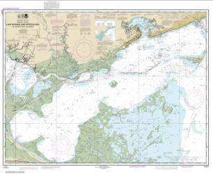 Buy map Lake Borgne and approaches Cat Island to Point aux Herbes Nautical Chart (11371) by NOAA from United States Maps Store