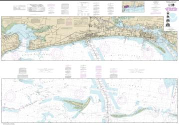 Buy map Intracoastal Waterway Dog Keys Pass to Waveland Nautical Chart (11372) by NOAA from Mississippi Maps Store