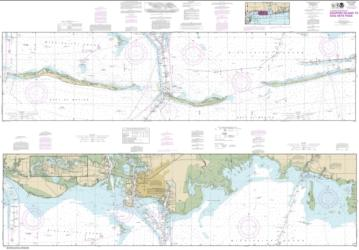 Buy map Intracoastal Waterway Dauphin Island to Dog Keys Pass Nautical Chart (11374) by NOAA from Mississippi Maps Store