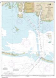 Buy map Pascagoula Harbor Nautical Chart (11375) by NOAA from Mississippi Maps Store