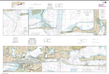 Buy map Intracoastal Waterway Santa Rosa Sound to Dauphin Island Nautical Chart (11378) by NOAA from Florida Maps Store