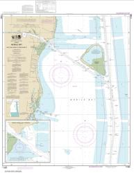 Buy map Mobile Bay East Fowl River to Deer River Pt; Mobile Middle Bay Terminal Nautical Chart (11380) by NOAA from United States Maps Store