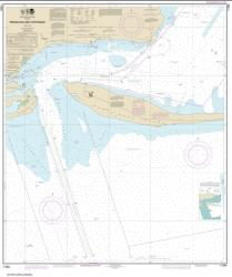Buy map Pensacola Bay Entrance Nautical Chart (11384) by NOAA from Florida Maps Store