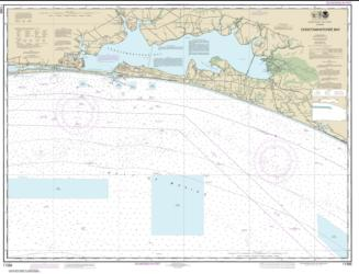 Buy map Choctawhatchee Bay Nautical Chart (11388) by NOAA from Florida Maps Store