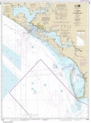 Buy map St Joseph and St Andrew Bays Nautical Chart (11389) by NOAA from Florida Maps Store