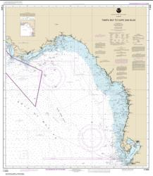 Buy map Tampa Bay to Cape San Blas Nautical Chart (11400) by NOAA from Florida Maps Store