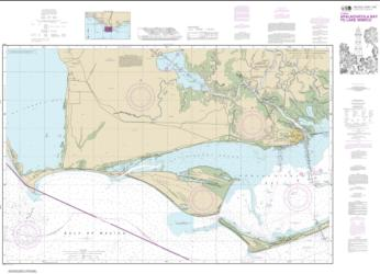 Buy map Intracoastal Waterway Apalachicola Bay to Lake Wimico Nautical Chart (11402) by NOAA from Florida Maps Store