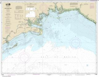 Buy map Apalachee Bay Nautical Chart (11405) by NOAA from Florida Maps Store