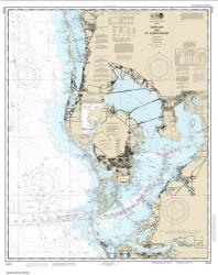 Buy map Tampa Bay and St. Joseph Sound Nautical Chart (11412) by NOAA from Florida Maps Store