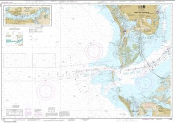 Buy map Tampa Bay Entrance; Manatee River Extension Nautical Chart (11415) by NOAA from Florida Maps Store