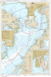 Buy map Tampa Bay; Safety Harbor; St. Petersburg;Tampa Nautical Chart (11416) by NOAA from Florida Maps Store