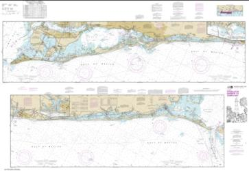 Buy map Intracoastal Waterway Charlotte Harbor to Tampa Bay Nautical Chart (11425) by NOAA from Florida Maps Store