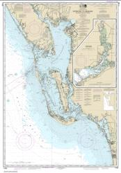 Buy map Estero Bay to Lemon Bay, including Charlotte Harbor; Continuation of Peace River Nautical Chart (11426) by NOAA from Florida Maps Store