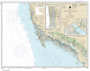 Buy map Chatham River to Clam Pass; Naples Bay; Everglades Harbor Nautical Chart (11429) by NOAA from Florida Maps Store