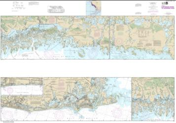 Buy map Lostmans River to Wiggins Pass Nautical Chart (11430) by NOAA from Florida Maps Store