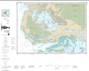Buy map Everglades National Park Whitewater Bay Nautical Chart (11433) by NOAA from Florida Maps Store