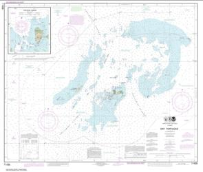 Buy map Dry Tortugas; Tortugas Harbor Nautical Chart (11438) by NOAA from Florida Maps Store