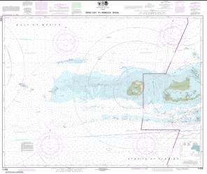 Buy map Sand Key to Rebecca Shoal Nautical Chart (11439) by NOAA from Florida Maps Store