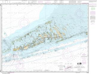 Buy map Florida Keys Sombrero Key to Sand Key Nautical Chart (11442) by NOAA from Florida Maps Store