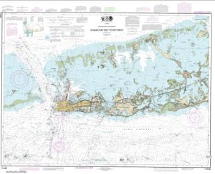 Buy map Intracoastal Waterway Sugarloaf Key To Key West Nautical Chart (11446) by NOAA from Florida Maps Store