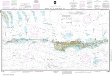 Buy map Florida Keys Grassy Key to Bahia Honda Key Nautical Chart (11453) by NOAA from Florida Maps Store