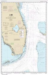 Buy map Cape Canaveral to Key West Nautical Chart (11460) by NOAA from Florida Maps Store