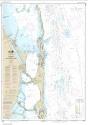 Buy map Intracoastal Waterway Sands Key to Blackwater Sound Nautical Chart (11463) by NOAA from Florida Maps Store