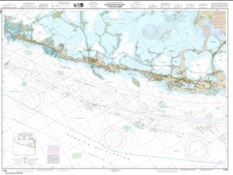 Buy map Intracoastal Waterway Blackwater Sound To Matecumbe Nautical Chart (11464) by NOAA from Florida Maps Store
