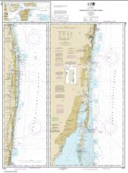 Buy map Jupiter Inlet to Fowey Rocks; Lake Worth Inlet Nautical Chart (11466) by NOAA from Florida Maps Store