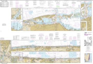 Buy map Intracoastal Waterway West Palm Beach to Miami Nautical Chart (11467) by NOAA from Florida Maps Store