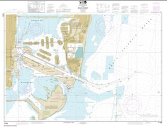 Buy map Miami Harbor Nautical Chart (11468) by NOAA from Florida Maps Store
