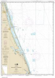 Buy map Bethel Shoal to Jupiter Inlet Nautical Chart (11474) by NOAA from Florida Maps Store