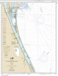 Buy map Cape Canaveral to Bethel Shoal Nautical Chart (11476) by NOAA from Florida Maps Store