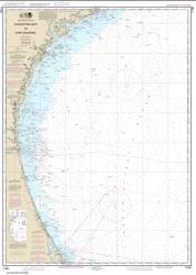 Buy map Charleston Light to Cape Canaveral Nautical Chart (11480) by NOAA from Florida Maps Store